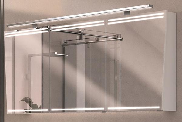 Puris LED Speilskap